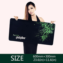 New Professional Gamers Laptop Keyboard Mats Gaming Mouse Pad Control Edition XL Large Size 600 300
