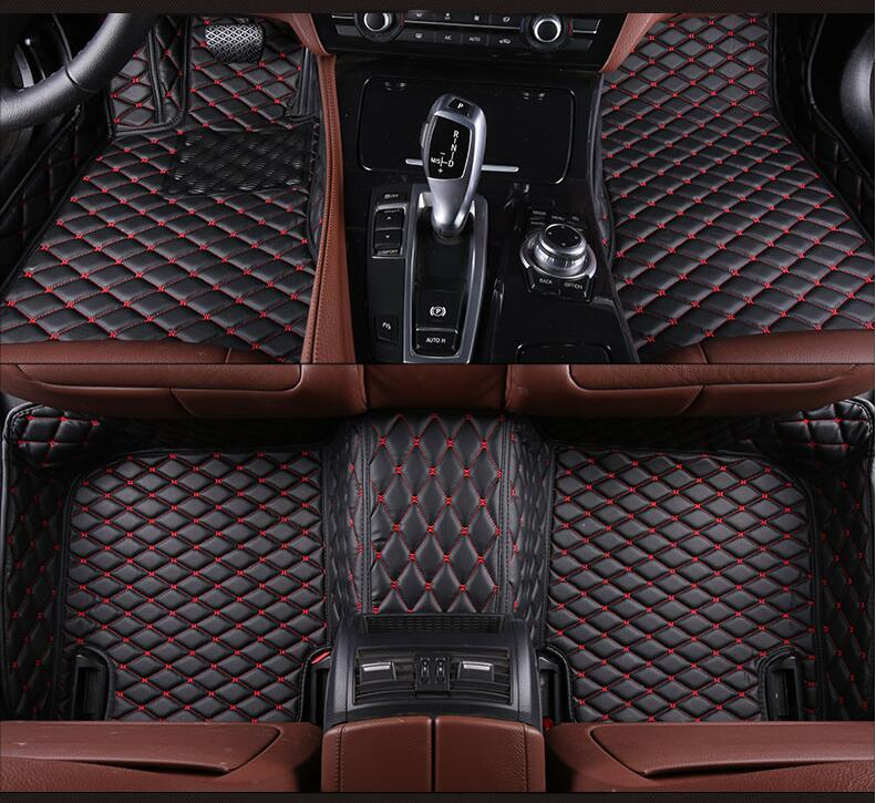 3d Luxury Slush Floor Mats Foot Pad Mat For Benz W204 W205