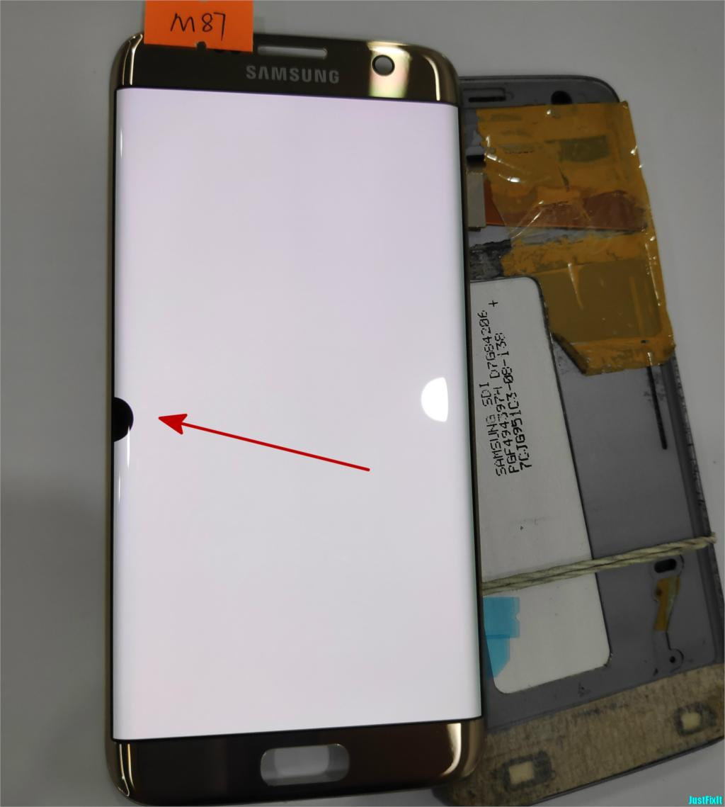 NO M87 for Samsung Galaxy S7 edge G935F G935FD Defect lcd display touch screen Digitizer 5