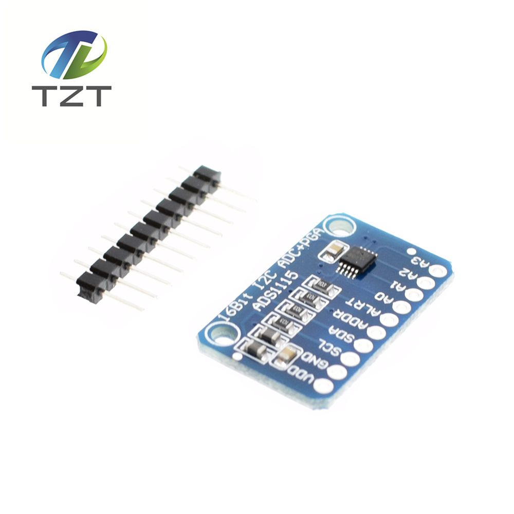 Detail Feedback Questions about 1pcs 16 Bit I2C ADS1115 Module ADC 4 channel  with Pro Gain Amplifier for Arduino RPi on Aliexpress.com   alibaba group c4d76194f4d3