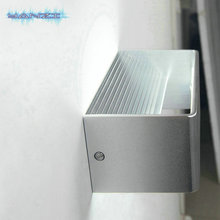 Surface Mount Wall Sconce 6W LED Warm White Wall Lamp Bedroom Bedside Lamp Light Modern Minimalist