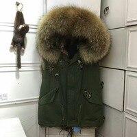 Taly Name Brand Vest Designer Fashion Mr Mrs Jackets Real Fur Coat