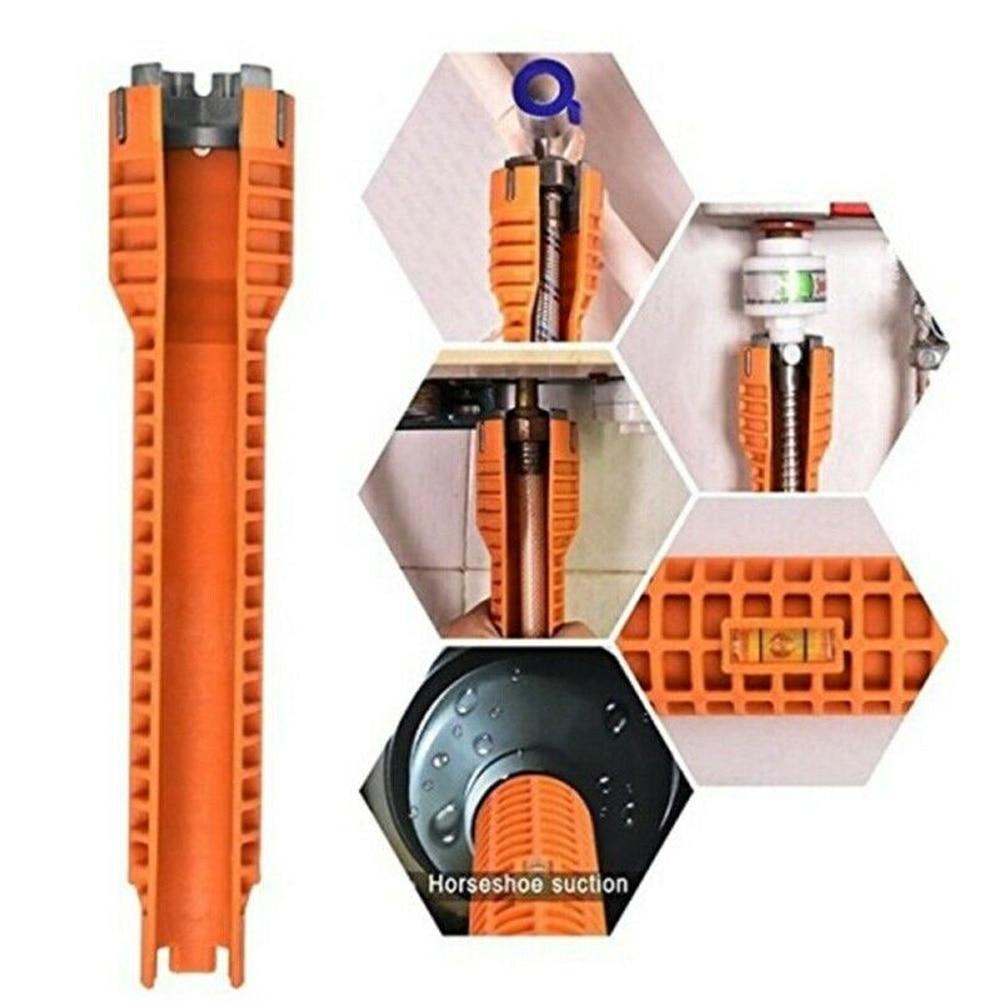 Кран установщик раковины водопровод гаечный ключ инструмент для сантехников домовладений - Цвет: as shown