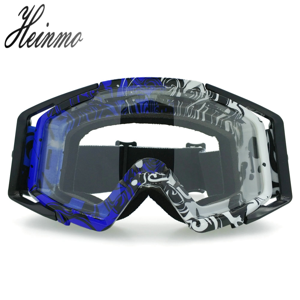New High Quality Transparent Sport Racing Off Road Oculos Lunette Motocross Goggles Glasses For Motorcycle Dirt Bike