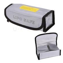 1pcs Lipo Battery Safety Bag Lipo Battery Guard Bag Charge Sack Battery Protection Bag for RC Toys LiPo Battery 185*75*60mm