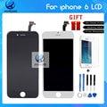 Teste AAA Gread Qualidade NO Display LCD Dead Pixel Para iphone 6 com tela de toque digitador assembléia substituição preto e branco