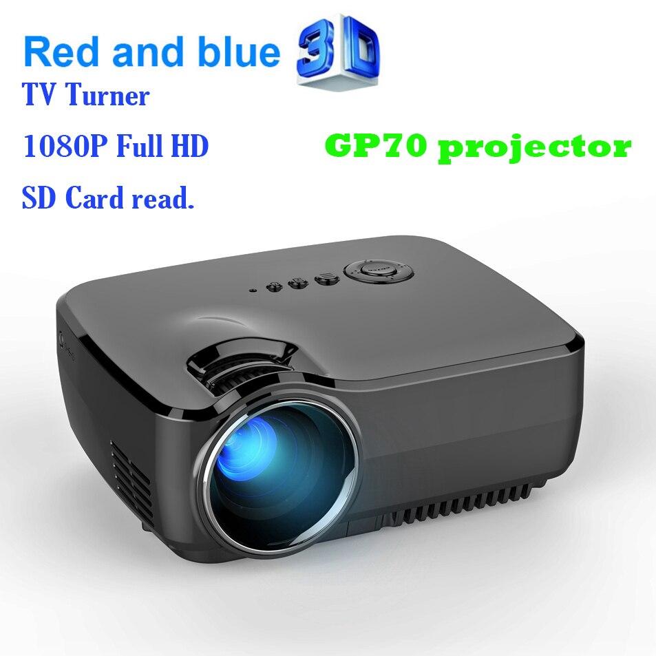 GP70 2017 AM01 New HD LED HDMI USB Digital Video Home Cinema Portable HDMI USB LCD Movie Mini DLP LED Projector