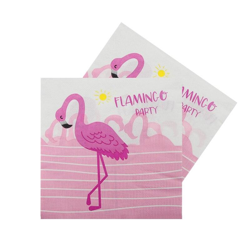Decoraciones de fiesta, servilletas flamencos de papel rosa, servilleta de tejido de fiesta de boda de verano, flamenco, suministros de cumpleaños y despedida de soltera Nuevo letrero de neón, lámpara LED de noche, lámpara de mesa con flamenco, nube, arcoiris, piña, decoración para fiesta de Navidad, decoración en 3D para el hogar