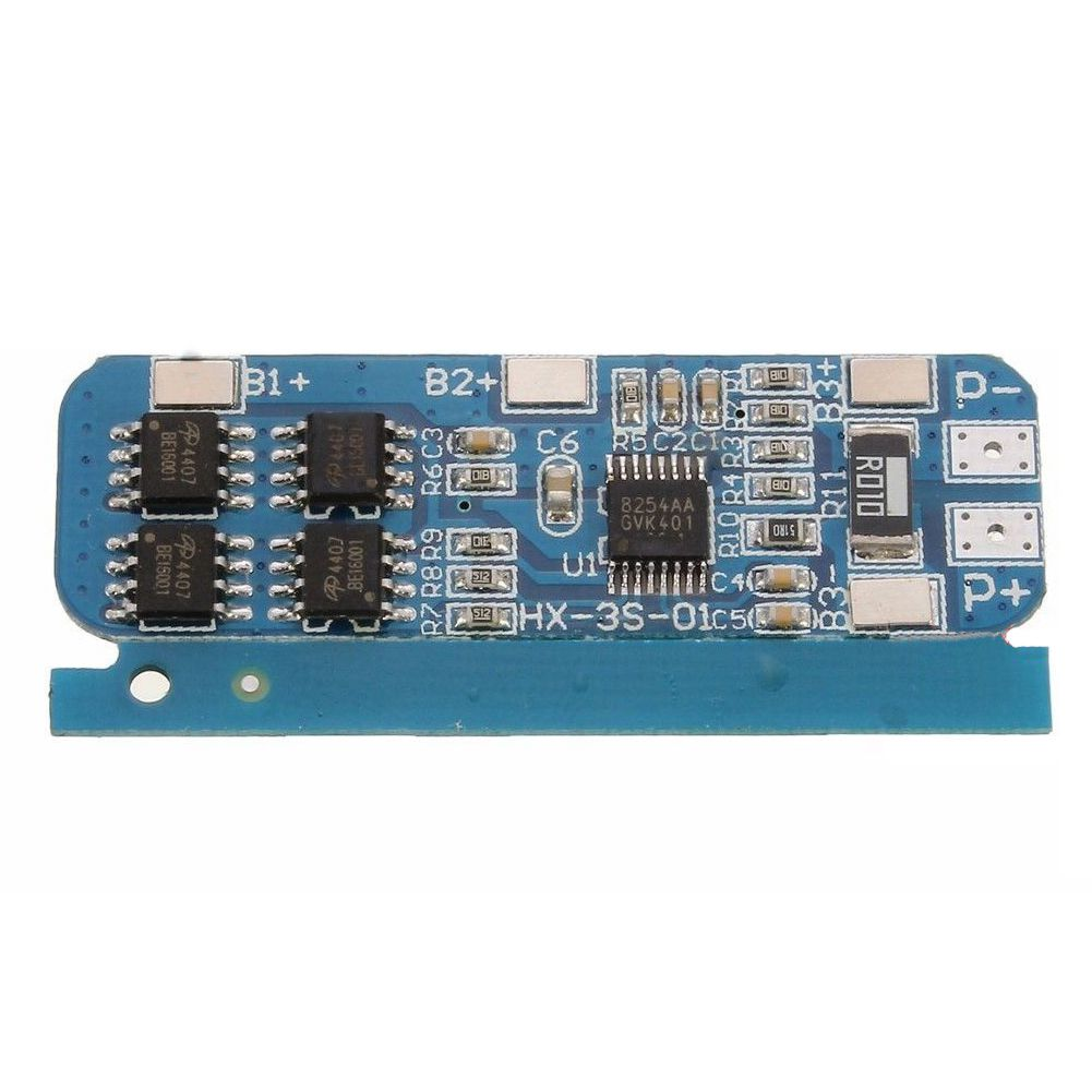 18650 10A 3 Li-ion lithium Battery Cell Charger Protection Board Module Blue