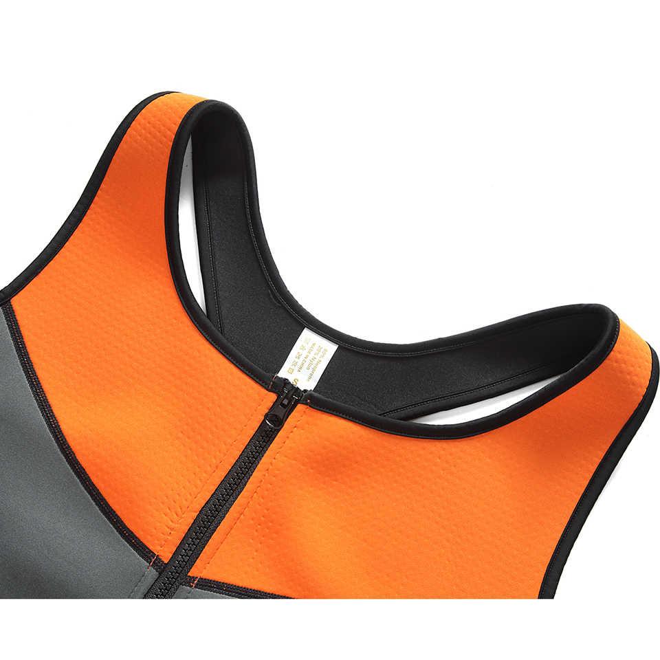Неопреновый поясной тренировочный жилет с эффектом сауны формирователь тела для похудения моделирующий ремень горячий формирователь моделирующее белье для тренировок регулируемый пояс для пота корсет