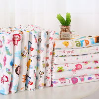 Cotton Knitted Fabrics Of Cotton Cloth Cartoon Baby Bedding Fabric Long Johns Organic Cotton Cloth Class