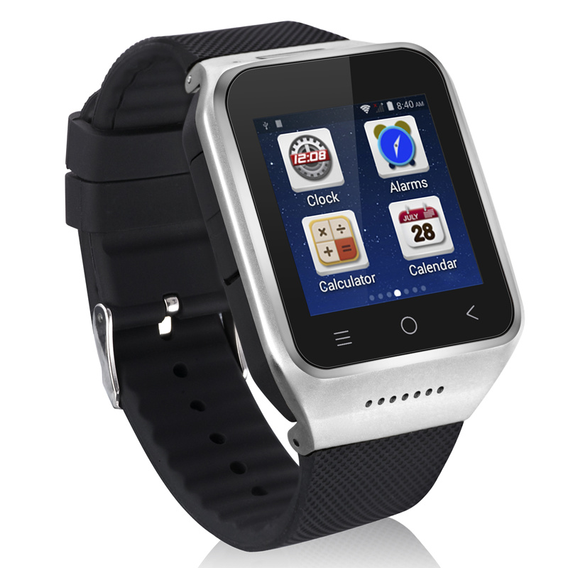 Smart Watch Android 4.4 OS Wifi GPS Men Support Wristwatch SIM Card 3G WCDMA GSM Free Install Android APPS Bluetooth 4.0 Camera