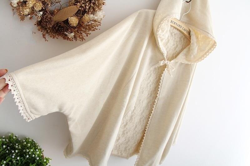 Двусторонний плащ-накидка с кружевным вырезом и капюшоном в стиле пэчворк; плащ со шнуровкой; Верхняя одежда; куртка