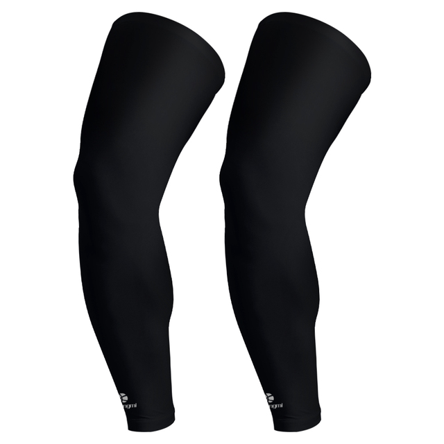 Kuangmi 2pcs Leg Compression Sleeves Leg Long Sleeves Knee Support Ciclismo Knee Protector Cycling Knee Brace Sports Basketball