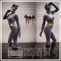 Anime Cat woman Cosplay Suit Costume