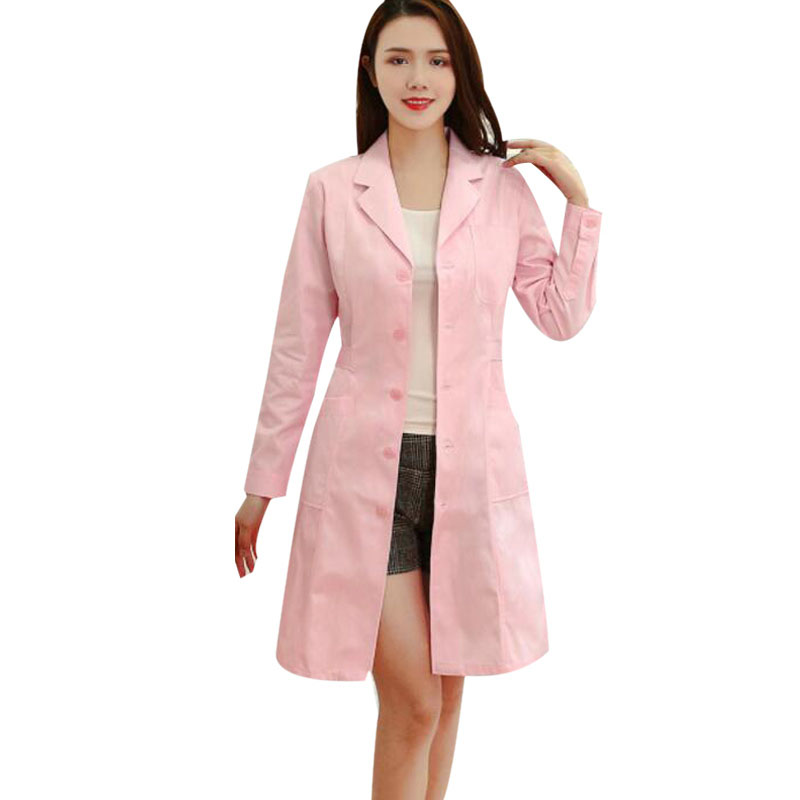 Nurse Uniforms Hospital Pharmacy Beauty Salon Female Overalls Summer Doctor's Clothing Dress