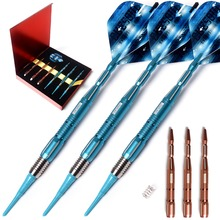 CUESOUL New ARMOUR Series 18 Grams Tungsten Soft Tip Darts cuesoul 18 grams soft tip tungsten darts 85