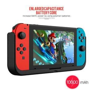 Image 5 - 10000mAh pil şarj cihazı tüm telefon için Nintendo Nintendo anahtarı NS tutucu standı kapak Nintendo anahtarı taşınabilir güç kaynağı kılıfı