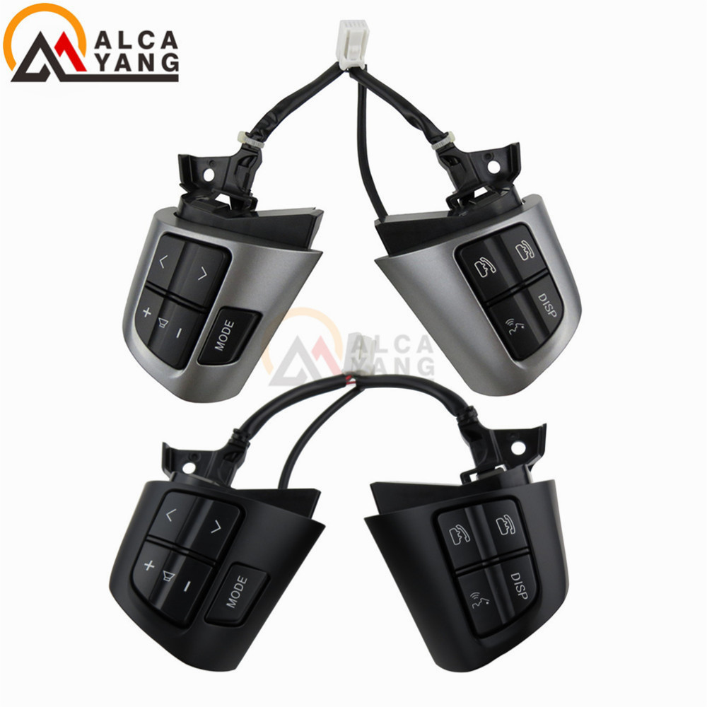 For TOYOTA COROLLA ADE150 NDE150 NRE150 ZRE15* ZZE150 2007 2013 Steering Wheel Audio Control Button-in Car Switches & Relays from Automobiles & Motorcycles