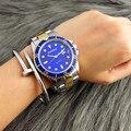 2016 Relógio Marca de Topo Homens Relógio CONTENA Auto Data Completa Relógio de Quartzo de aço Moda Relógios Homens Horas montre homme relogio masculino