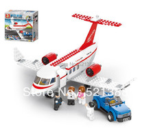 Educational DIY Toys for children Building Blocks toys personal plane self-locking bricks Compatible with Lego