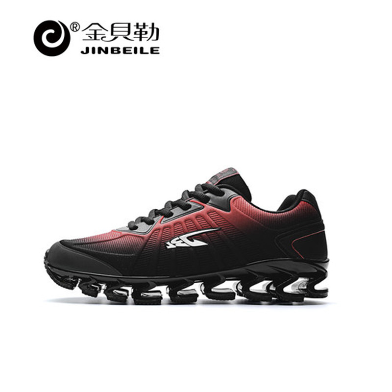 Jinbeile 2018 Blade Warrior Running Shoes Generation Shock Absorbing Runner Shoes Men Breathable Light Man Sneakers Jog Shoes