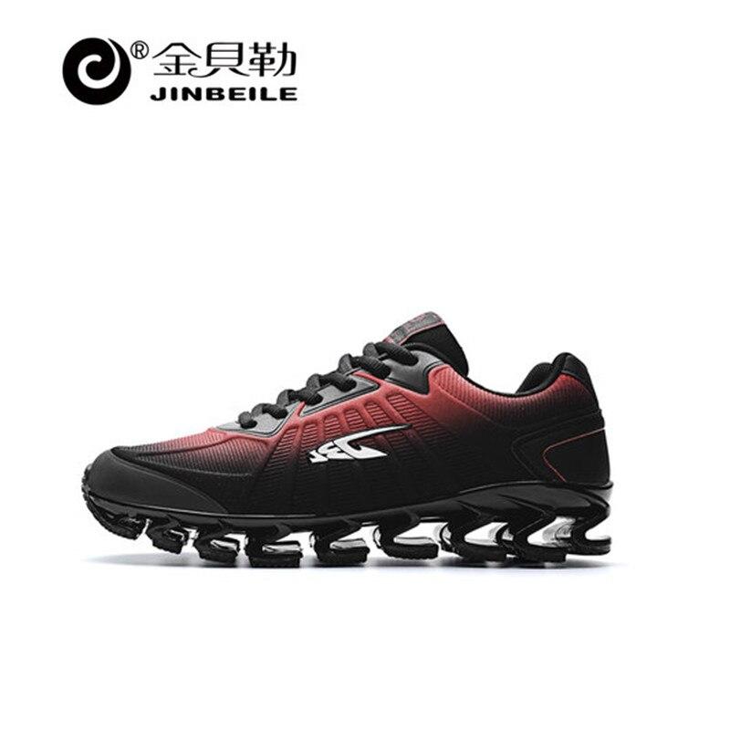 Jinbeile 2018 Lame Guerrier chaussures de course génération choc absorbant coureur chaussures hommes respirant lumière homme sneakers jogging chaussures