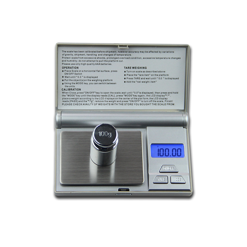 New 100gx0.01g Mini Digital Scale 0.01g Portable LCD Electronic Jewelry Scales Weight Weighting Diamond Pocket Scales 600g 0 1g mini digital scales weight balance lcd electronic scale pocket precision jewelry gold diamond weight weighting scales