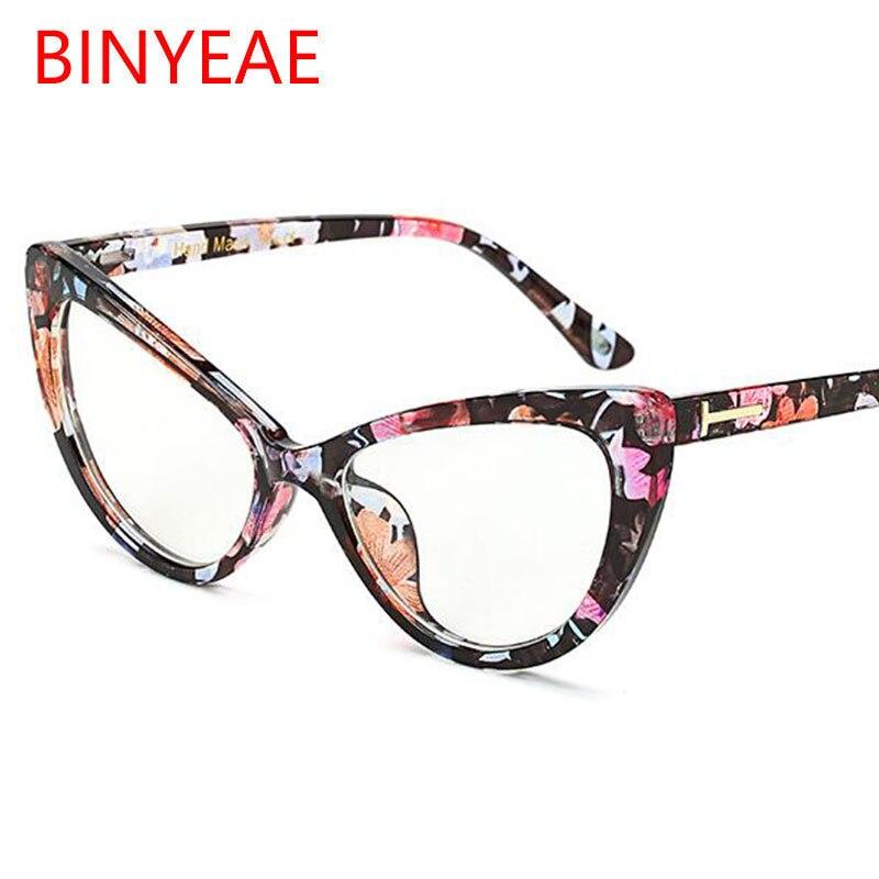 2018 sexy Cat Eye brille rahmen Frauen Marke designer brillen ...