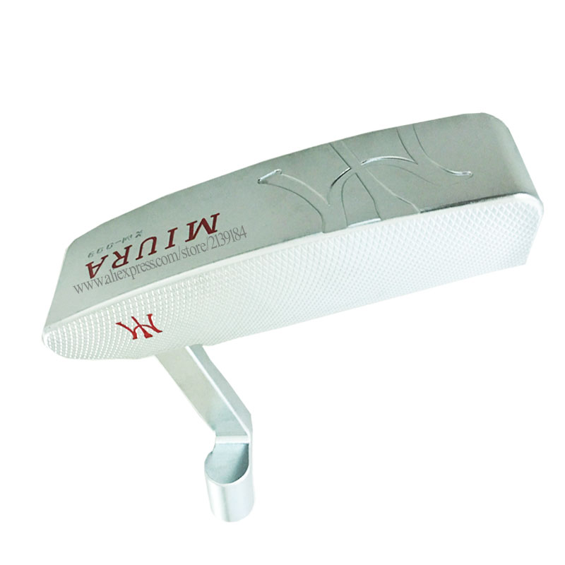 Cooyute NEW Golf Heads MIURA KM-009 Golf Putter Haed T Silver Golf Club Head And Golf Headcover No Clubs Shaft Free Shipping
