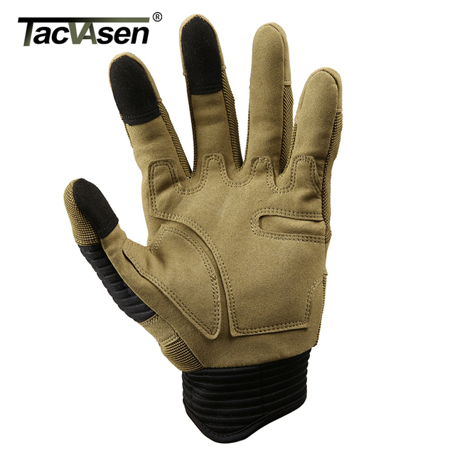 TACVASEN Military Tactical Gloves Men Airsoft Army Combat Gloves Hard Knuckle Full Finger Motorcycle Hunt Gloves Touch Screen 4