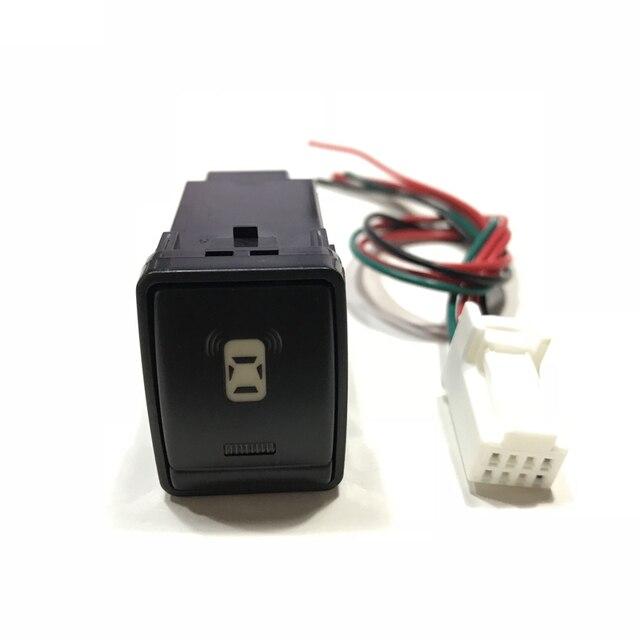 Светодио дный LED спереди и сзади после противотуманных фар радар Парковка сенсор камера регистраторы мониторы багажник кнопка включения провода для Nissan qh AI 2016