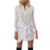 Elegante Casual Mulheres Blusas de Verão 2016 Tops de Manga Longa Camisa de Algodão Mulheres Arco Feminino Blusa Branca Camisa Solta Blusas Feminino