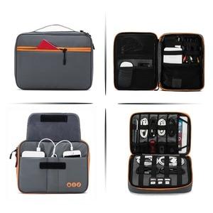 Image 4 - BAGSMART אוניברסלי נסיעות כבל ארגונית אלקטרוניקה אביזרי לשאת תיק עבור 9.7 אינץ iPad, קינדל, כוח מתאם
