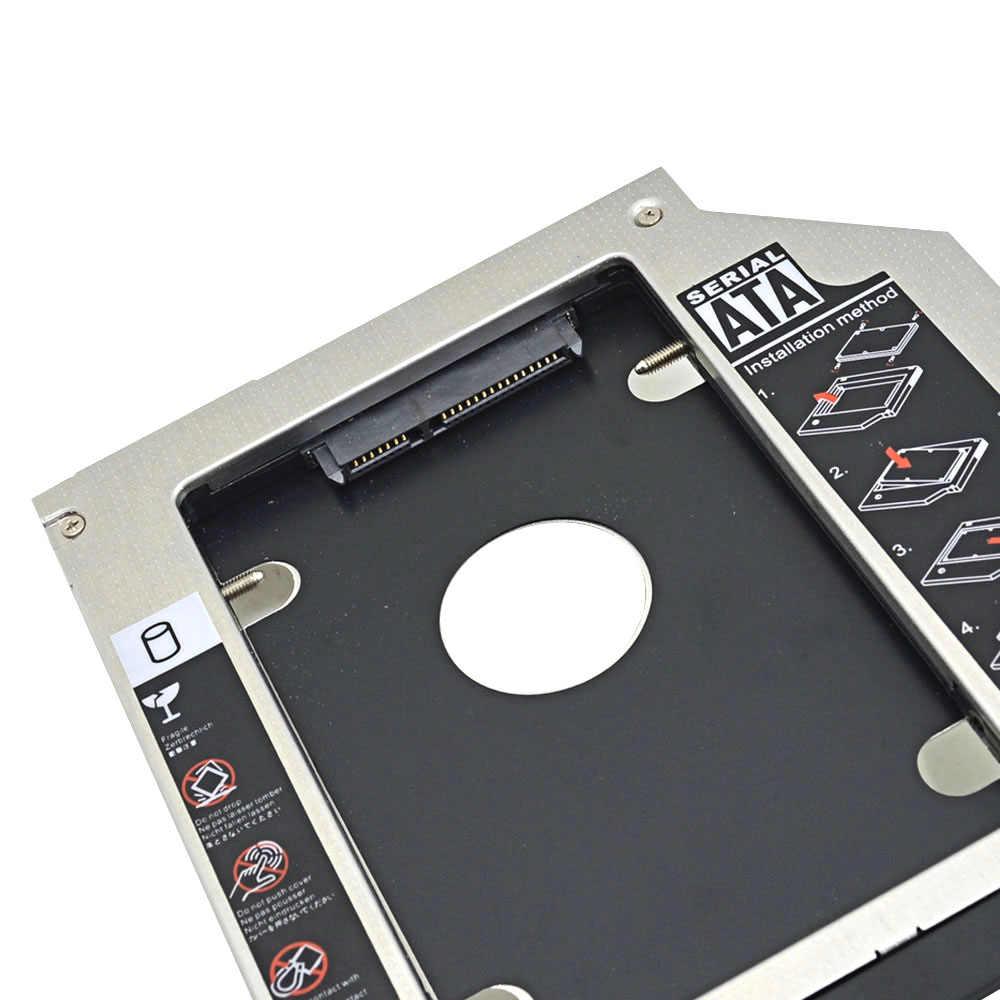 CHIPAL 2nd HDD Caddy 9,5 мм SATA 3,0 с толкатель пресс-формы двойной светодиодный светильник для Dell Latitude E6320 E6420 E6520 E6330 E6430 E6530 CD-ROM
