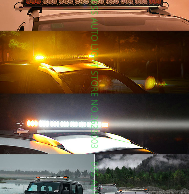 led light bar offroad light bar led driving light led work working light for jeep atv utv suv truck pick (12)