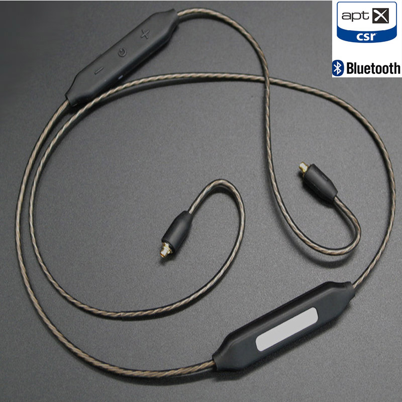 CSR8645 bluetooth 4.1 mmcx Cable aptX AAC for shure se215 se535 se846 A2DC LS70 IM50 IM70 ie80 Apt X Wireless headphones cable
