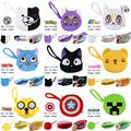 9Pcs/Bag Habib Sailor Moon bear Anima Cartoon plush Children Wallet Purse Bags Zero Wallet Gifts