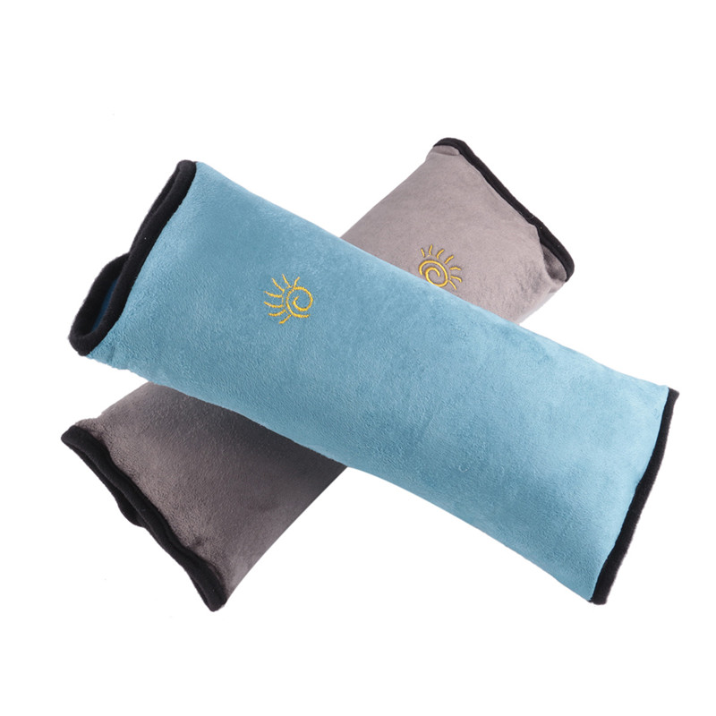 Comfortable Baby Pillow Car Auto Safety Seat Belt Harness Shoulder Covers Cushion Support Pillow Pad Cover Children Protection