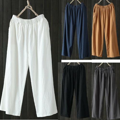 Women's Summer Wide Leg Dress   Pants   Trousers Wide 2019 Casual   Pants   Female Ladies Culottes   Pants     Capris
