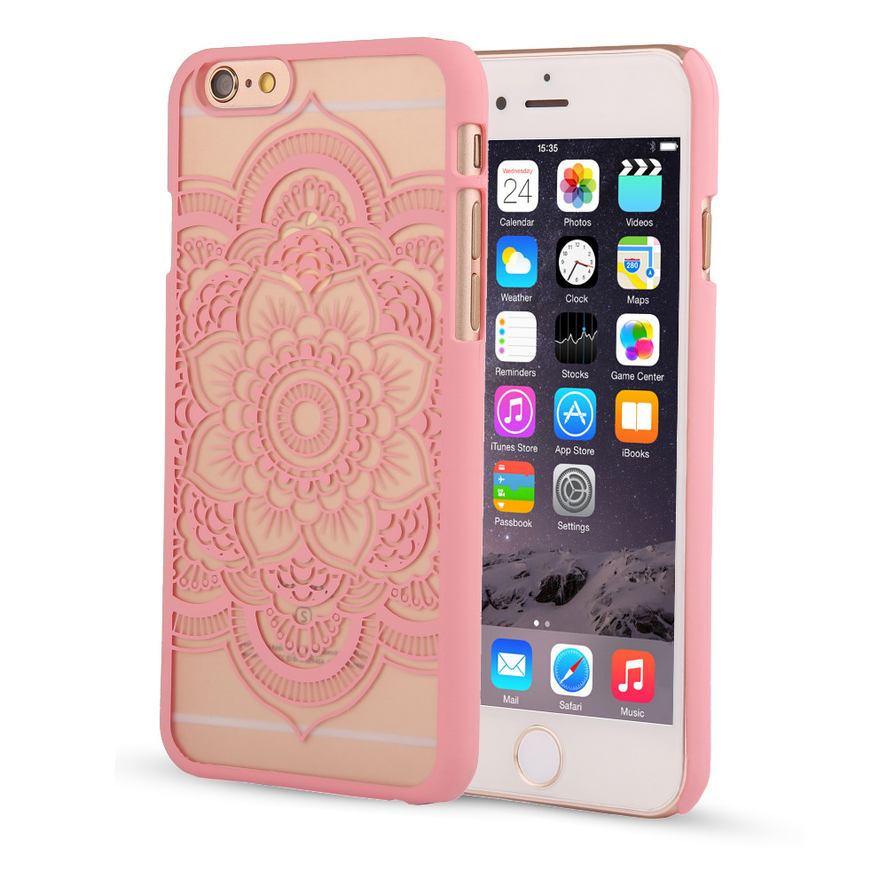 best sneakers fa897 44f51 US $1.7 |Retro Fashion palace flower Case For Iphone SE 5 5s 6 6s 6s plus  Hollow Out Palace Paper Cut Vintage Flower Pattern-in Fitted Cases from ...