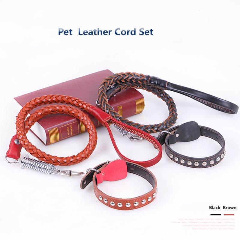 De alta calidad Collar Y Correa de Mascota Perro Grande Golden Retriever Perro G