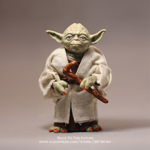 Disney Star Wars 12cm Toy Master Yoda Darth PVC Action Figure Force Awakens Jedi Yoda Anime Figures Collection Model Dolls Toys