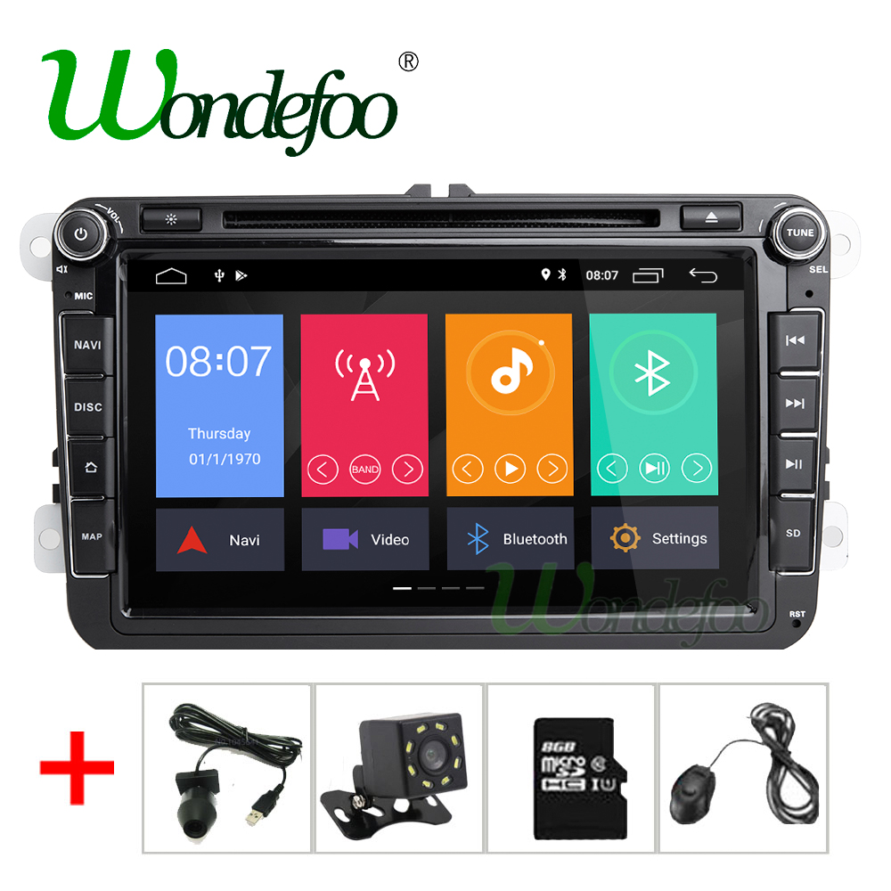 2G Android 8 1 multimedia DVD For SEAT Leon Altea Alhambra Toledo VW GOLF5 GOLF6 POLO