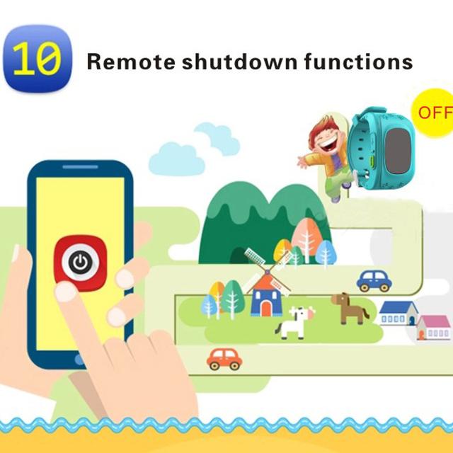 Newest Q50 Kids Smart Wristwatch Kid Safe GPS Track Smart Watch SOS Call Location Finder Locator Tracker Baby Anti Lost Monitor