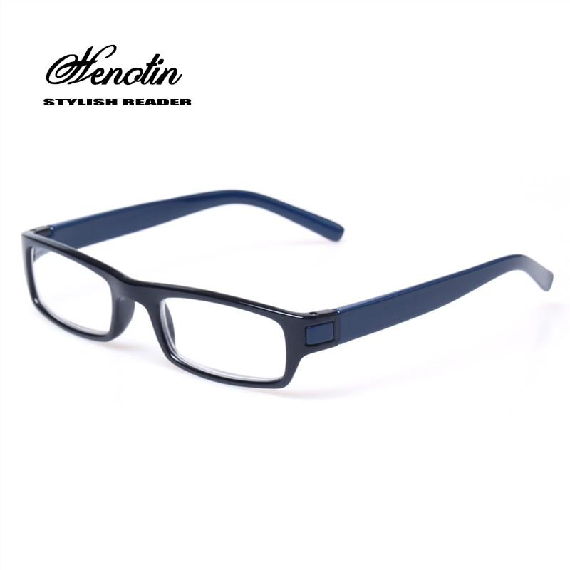 Olvasó szemüveg Márka divat tiszta lencse műanyag szemüvegek könnyű férfiak nők színes szemüvegek Presbyopic poharak Diopter 0,5 - 6,0