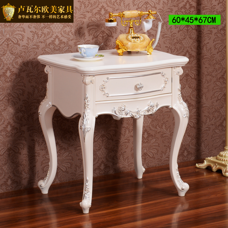 Continental square side table a few small coffee living - Ivory painted living room furniture ...
