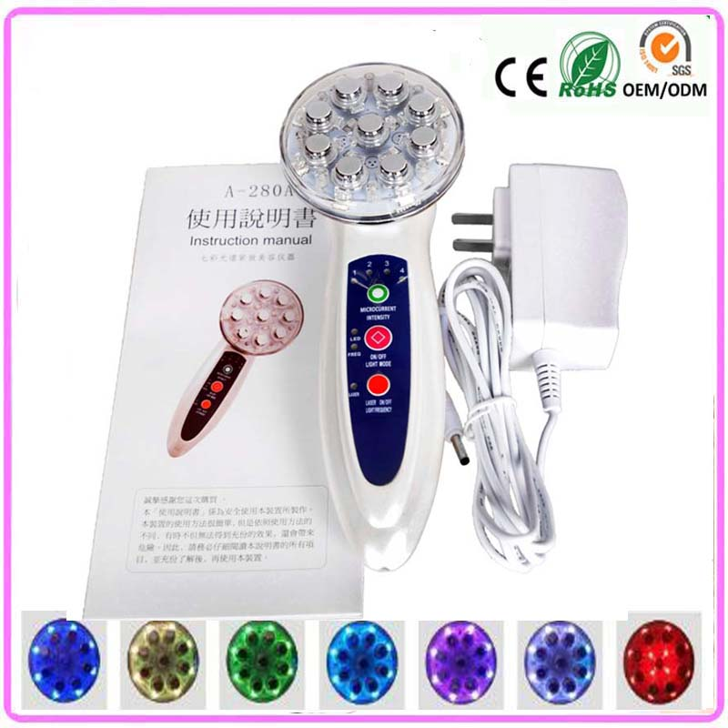 Rf EMS Laser Radio Frequency Skin Stimulation Collagen Growth Acne Wrinkle Removal Face Body Skin Firming Whitening Machine