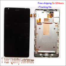 In Stock!!100% Original For Nokia Lumia 1520 LCD Display Touch Screen Digitizer Assembly With Frame MARS Phablet 1030 LCD Tested
