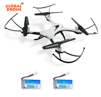 Global Drone H31 Waterproof RC Quadrocopter 2 Batteries RC Headless Mode RC Drone LED Lights VS
